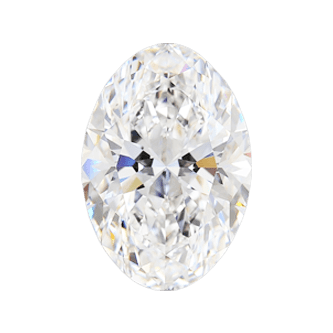 High Quality Oval Diamond Gemstone SI2 SI1 VS2 VS1 VVS2 VVS1 IF FL Clarity D E F G H I J K Color