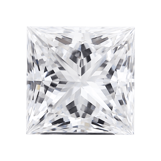 High Quality Princess Diamond Gemstone SI2 SI1 VS2 VS1 VVS2 VVS1 IF FL Clarity D E F G H I J K Color